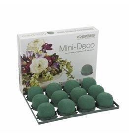 OASIS® FLORAL FOAM Mini Deco Ø5x3,5cm   12st
