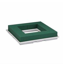 OASIS® FLORAL FOAM Table Deco Quadro 27x27x4,5cm   2st