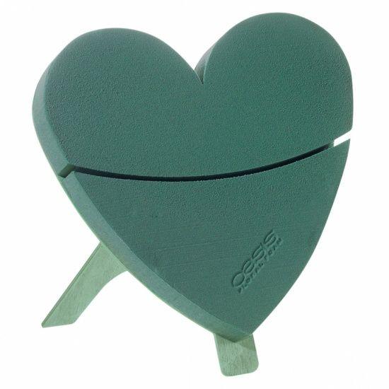 OASIS® BIOLINE® Mini Hart 30x28x4,5cm | 2 stuks