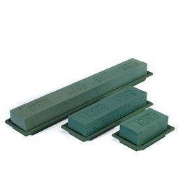 OASIS® FLORAL FOAM Table Deco Medi Groen 25x9x5cm   8st