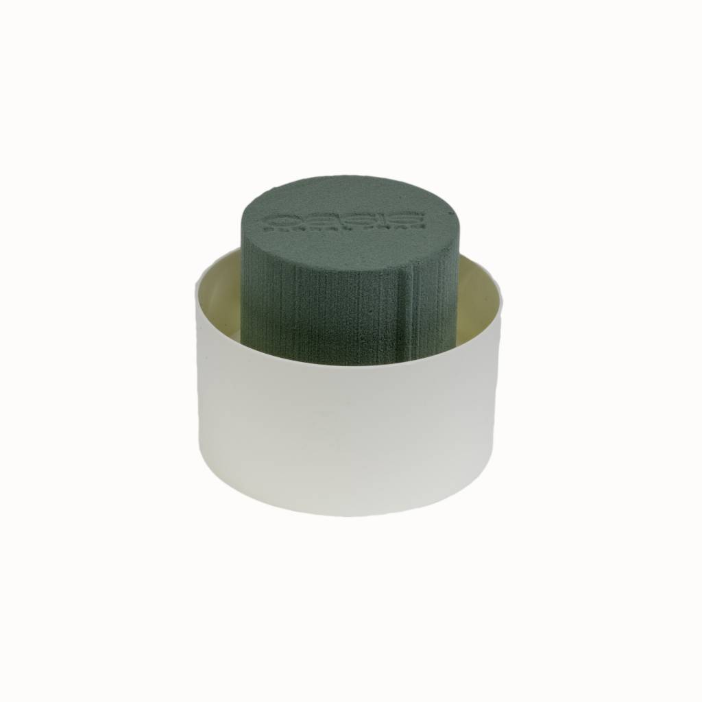 OASIS® FLORAL FOAM Table Design Viva Medi Ø11x7cm | 12 stuks