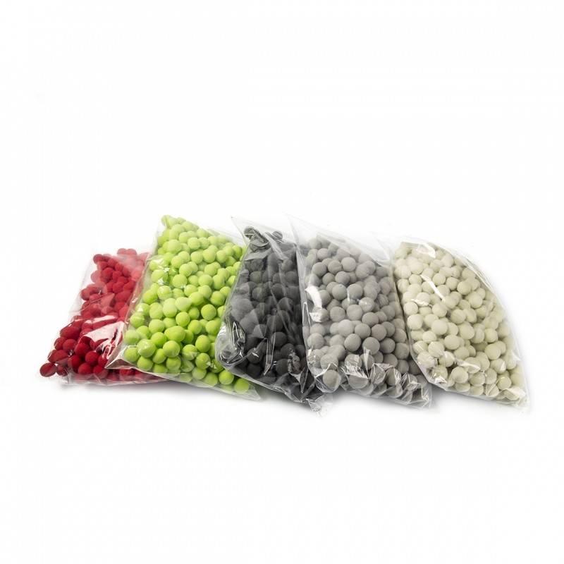 OASIS® RAINBOW® Bal-Bol Ø1cm - Limoen Groen | 250 stuks