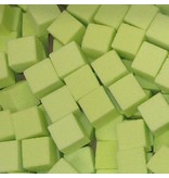 OASIS® RAINBOW® Mini Cubes 2x2x2cm - Lime Green   300 stuks