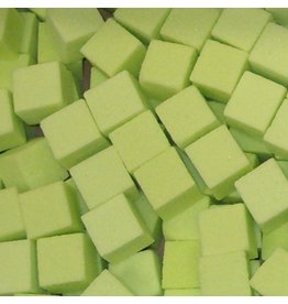 OASIS® RAINBOW® Mini Cubes 2x2x2cm - Lime Green   300st