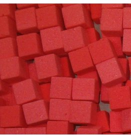 OASIS® RAINBOW® Mini Cubes 2x2x2cm - Baroque Red | 300st