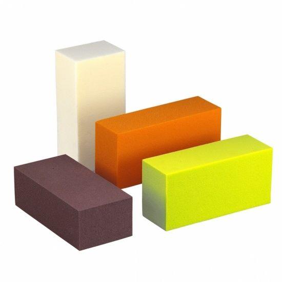 OASIS® RAINBOW® Blok 23x11x8cm - Wooden Brown   4 stuks