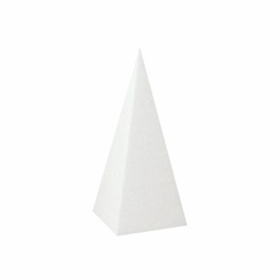 OASIS® STYROPOR Piramide 14x14x30cm   1 stuks