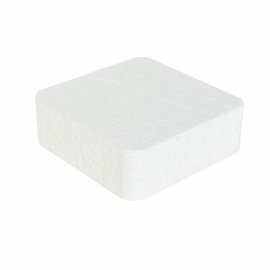 OASIS® STYROPOR Cake Dummie 20x20x7cm | 1 stuks