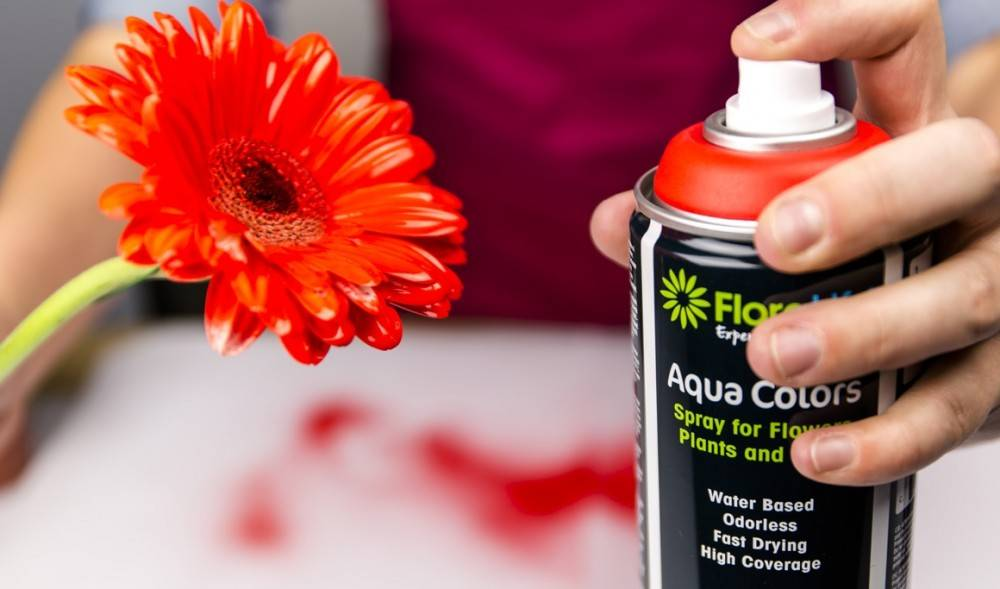 Floralife® Aqua Colors Helder Oranje 400ml | 1 stuks