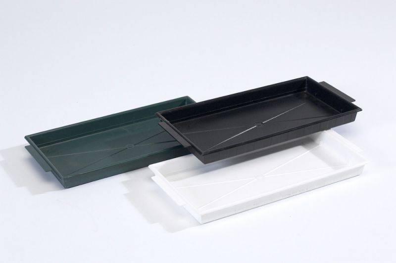 OASIS® FLORAL PRODUCTS Brick Tray - Groen 26x12,5x2cm | 25 stuks