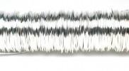 H&R Deco Lak Draad op Houten Klos Zilver Ø0,50mm x50m | 100g