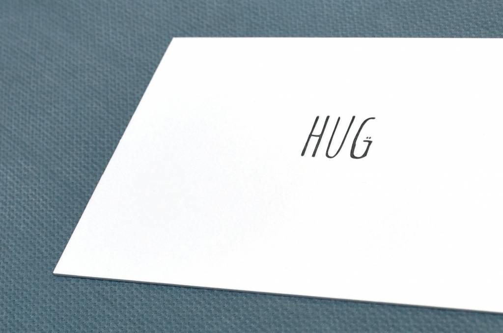 KEET Wenskaart - KEET BLACK - HUG