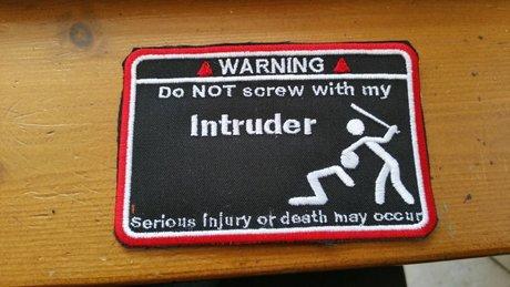 Don't screw my intruder