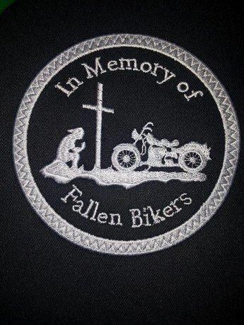 Fallen biker