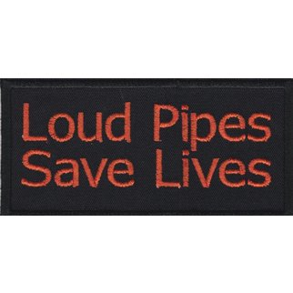 Rebecca Embroidery Loud pipes save lives