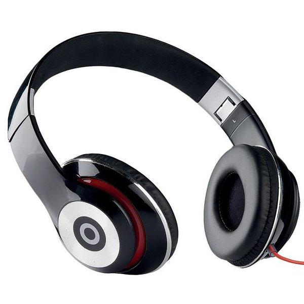 Stereo koptelefoon (zwart)