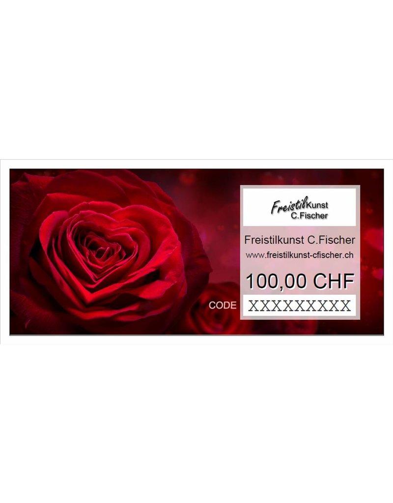 FreistilKunst C.Fischer Geschenkgutschein 100 CHF