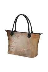 C.Fischer Elegante Designer Shoppertasche mit Reissverschluss 'Zeitgeist'