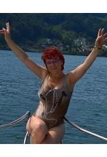C.Fischer Stylischer Designer Bikini: Botschaft