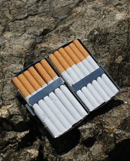C.Fischer Designer Zigarettenetui: Botschaft
