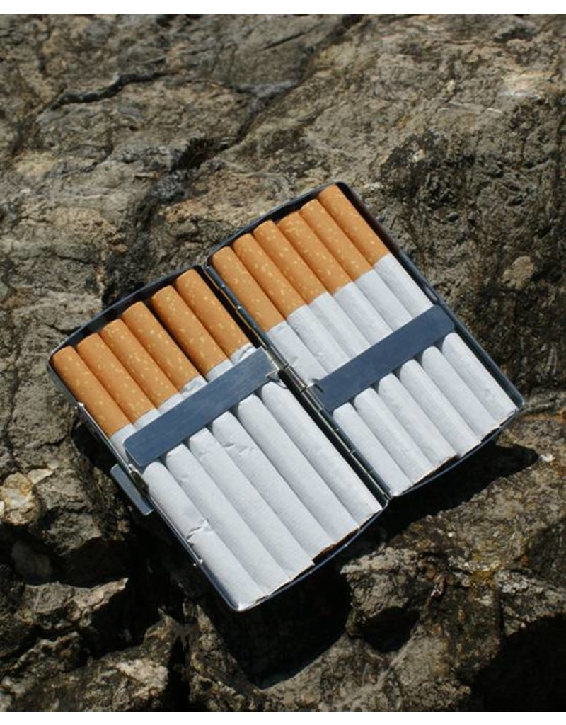 C.Fischer Designer Zigarettenetui: Innere Kraft
