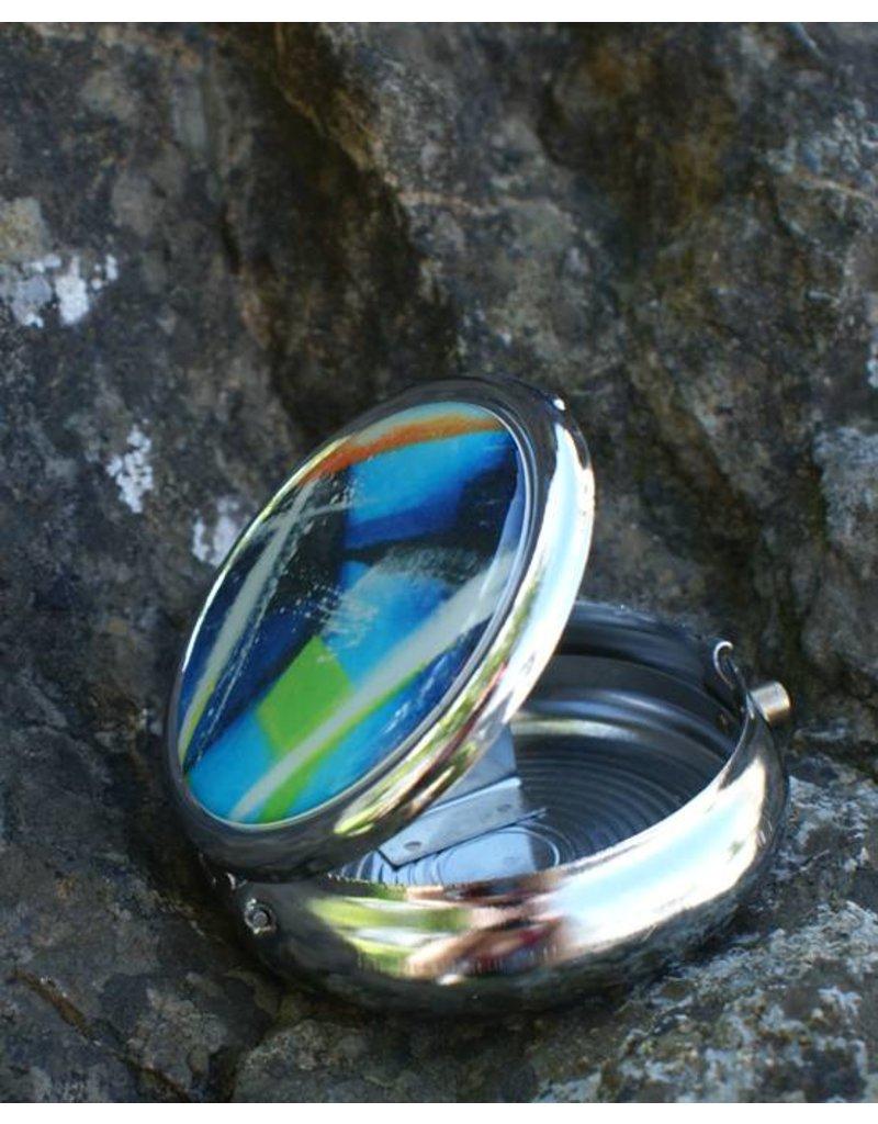 C.Fischer Traumhafter Designer Taschenaschenbecher 'Innere Kraft'