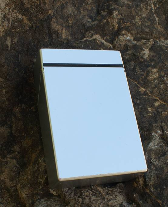 C.Fischer Designer Zigarettenbox: Zeitgeist