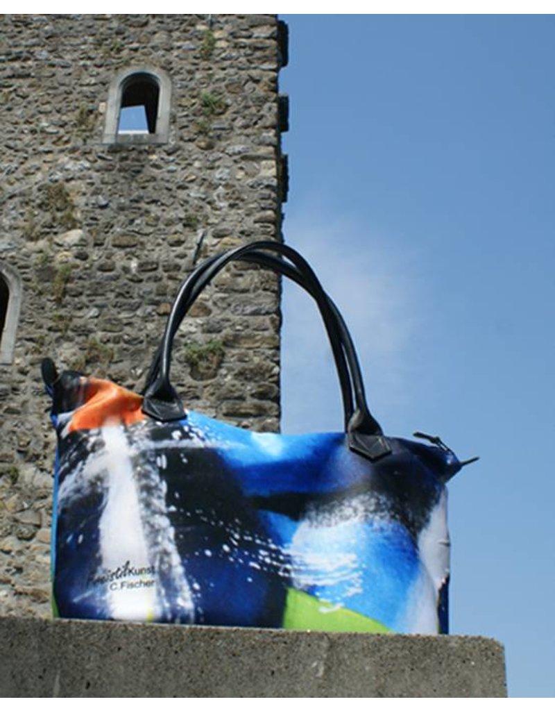 C.Fischer Wunderschöne Designer Shoppertasche mit Reissverschluss 'Zuversicht'