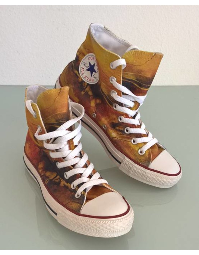 C.Fischer Designer Sneakers Converse 'Chuck Taylor Low': Ausbruch