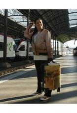 C.Fischer Trendiger Designer Trolley Claymore 'Botschaft'
