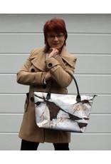 C.Fischer Elegante Designer Shoppertasche mit Reissverschluss 'Botschaft'