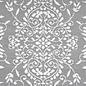 Grijs wit buitenkleed orientaals