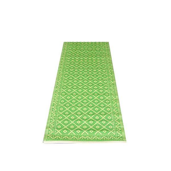 Wonder Rugs Groen balkonkleed grafisch patroon