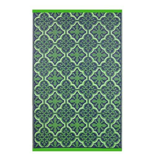 Wonder Rugs Paars groen buitenkleed
