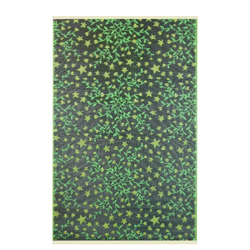 Wonder Rugs Blaadjes groen buitenkleed