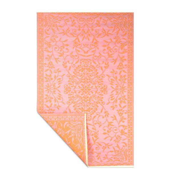 Wonder Rugs Terraskleed plasticoranje roze