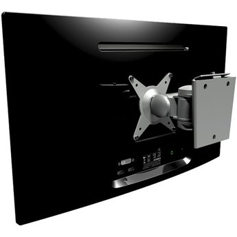 Dataflex Viewmate monitorarm Zilver - wand 032