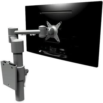 Dataflex Viewmate monitorarm Zilver - wand 052