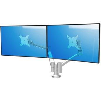 Dataflex Viewlite plus monitorarm Zilver/Wit - bureau 652