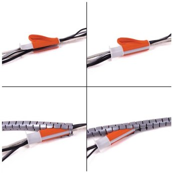 Dataflex Cable Eater 3m Silver