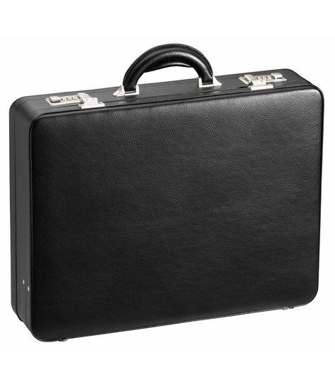 D & N Lederwaren Attache koffer D & N Lederwaren 2629 zwart