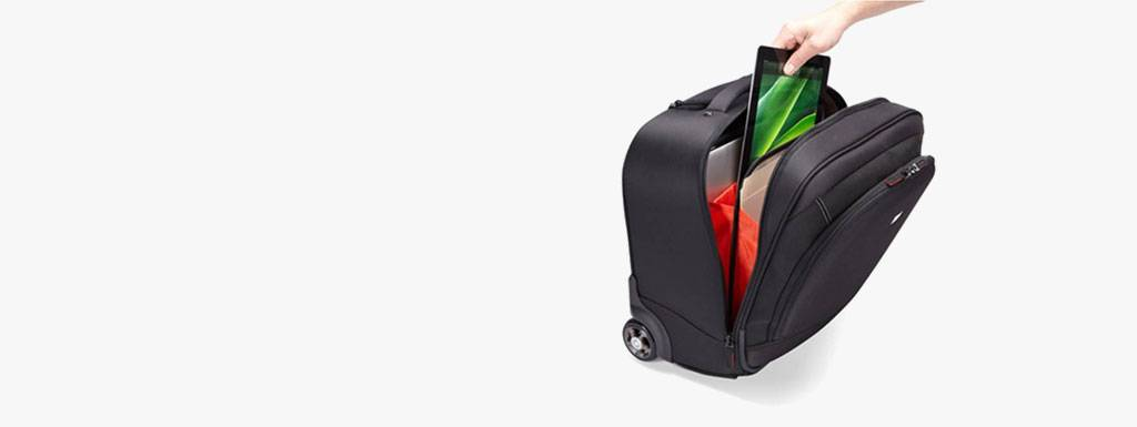Nooit meer last van je rug met deze handige laptoptrolleys