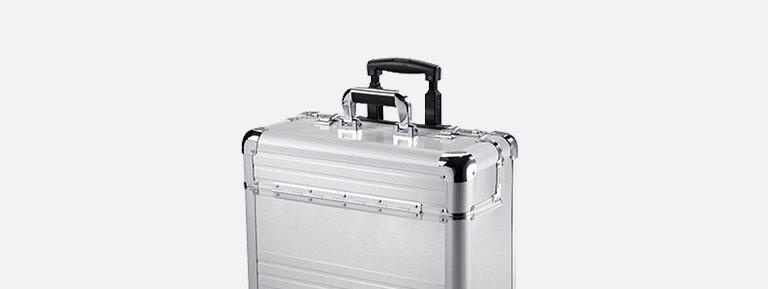 De perfecte zakelijke uitstraling met onze stevige aluminium koffers