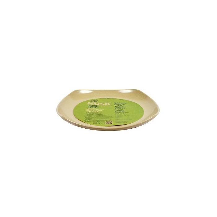 EcoSoulife SALE!! campingservies - Husk large square plate