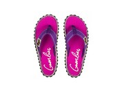 Gumbies teenslippers flip flop Purple Signed