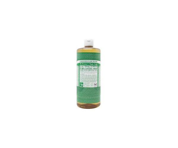 Dr. Bronner Fairtrade vloeibare zeep met biologische ingrediënten (436 ml)