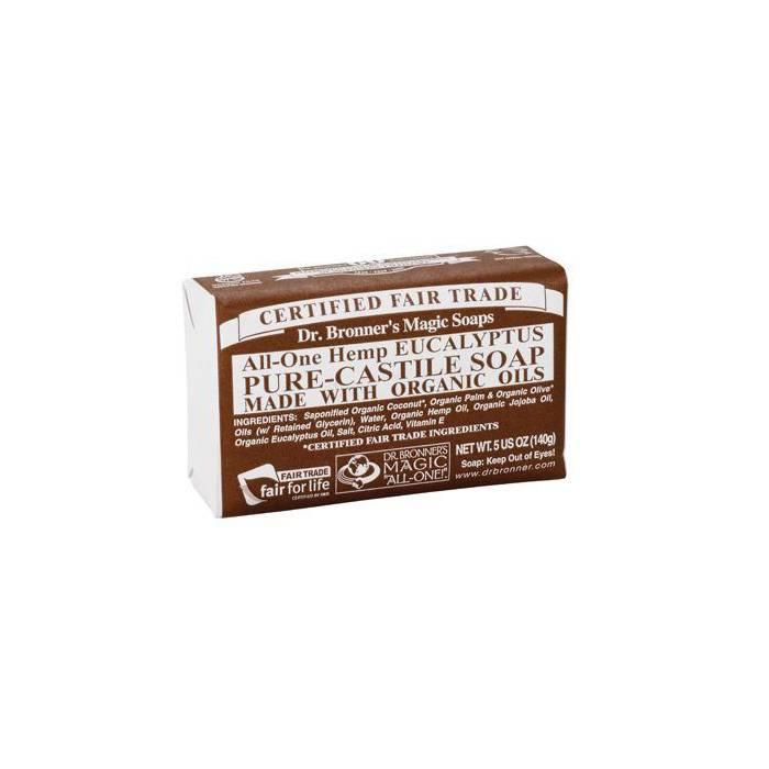 Dr. Bronner Pure Castile Bar Soap - natuurlijke zeep