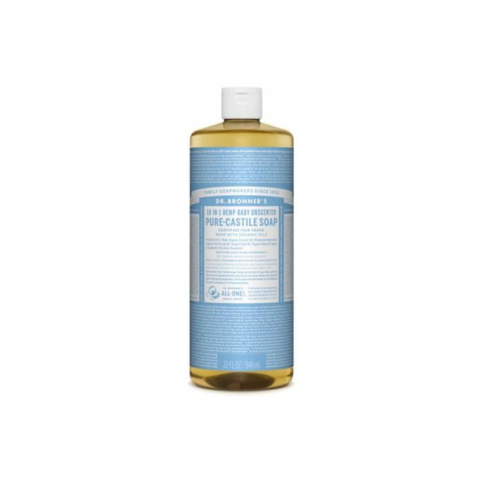Dr. Bronner Fairtrade vloeibare zeep met biologische ingrediënten