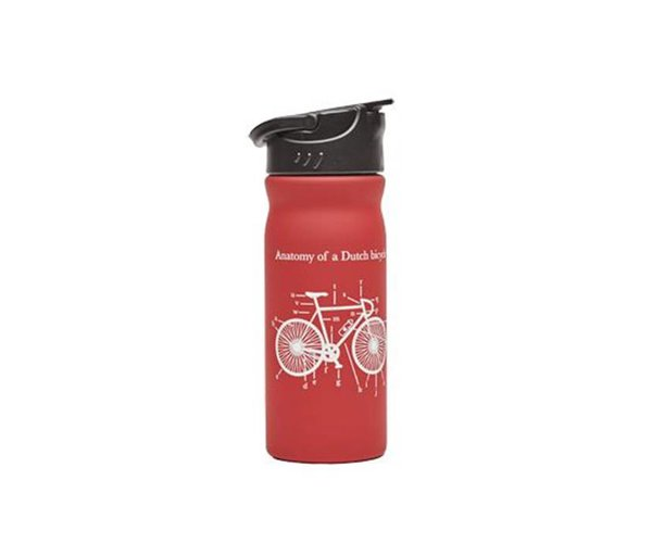 "Tulper RVS drinkfles ""Dutch Bicycle"""
