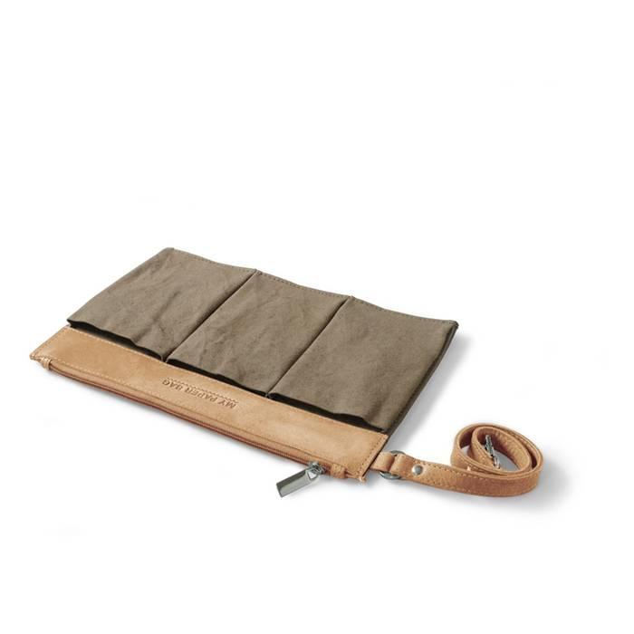 MYOMY My paper bag -bag-in-bag- 4 praktische vakjes